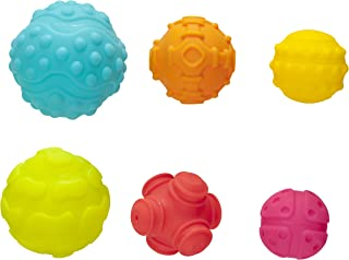 Playgro Textured Sensory Balls Baby Toy 6 Pack, 6 Count