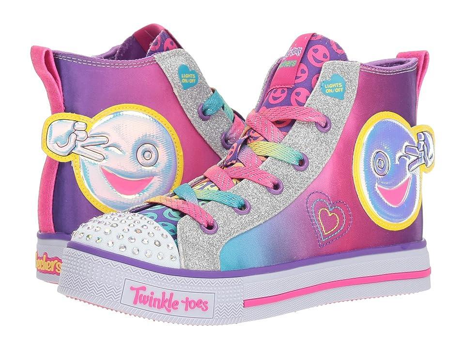 SKECHERS KIDS Twinkle Toes Twinkle Lite 10996L Lights (Little Kid/Big Kid) (Multi) Girl