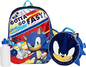 Boys 4PC Sonic the Hedgehog Licensed Backpack and Lunch Set