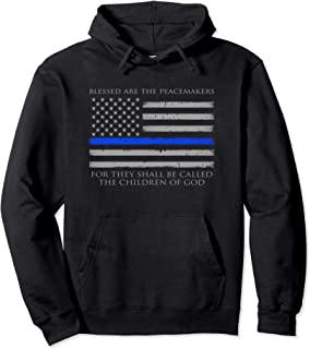 blessed are the peacemakers hoodie
