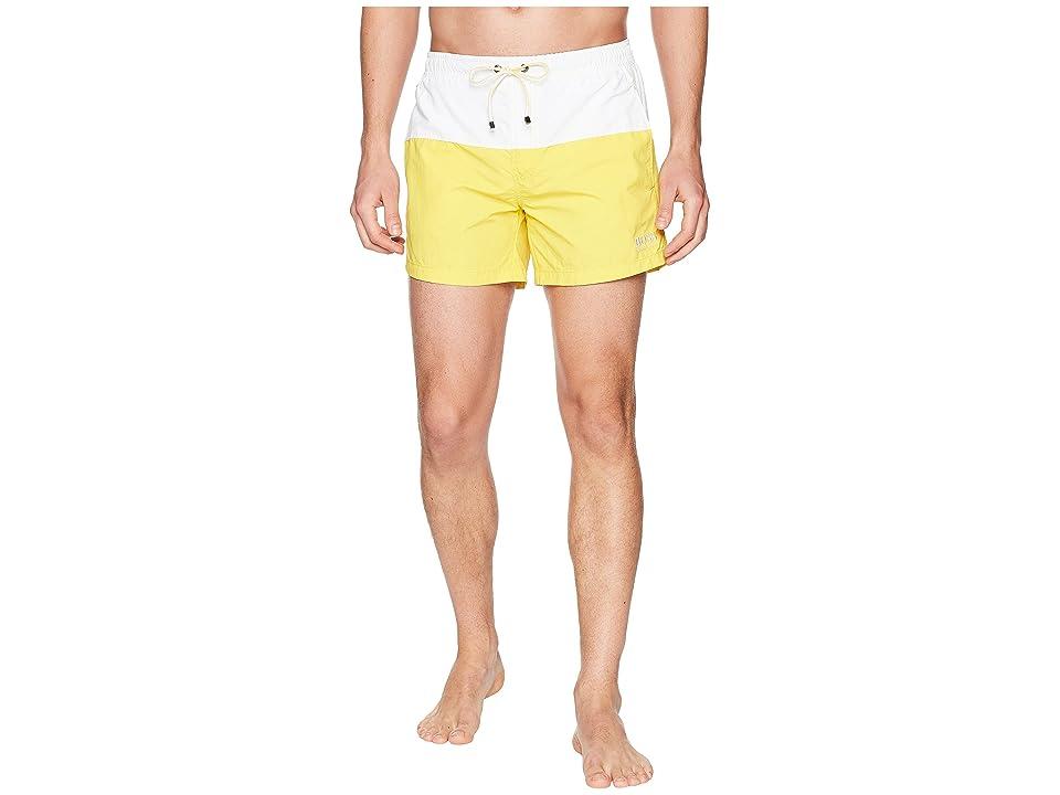 BOSS Hugo Boss Flounder Swim Trunk (Open Yellow) Men
