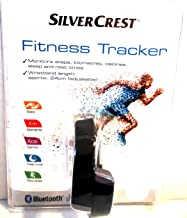 Silver Crest Fitness Tracker, Monitors Steps, Kilometers, Calories, Sleep and Rest Times.