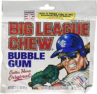 Big League Chew-Shredded Bubble Gum, 24 Packets Original