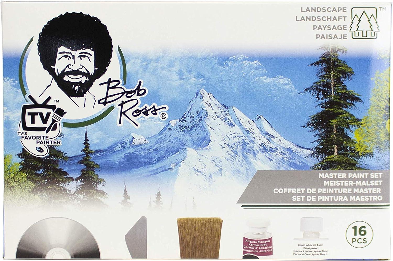 Bob Ross Master Paint Set R6510 Amazon De Spielzeug