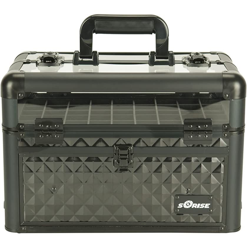 Sunrise E3310 Nail Artist Case, Diamond Black