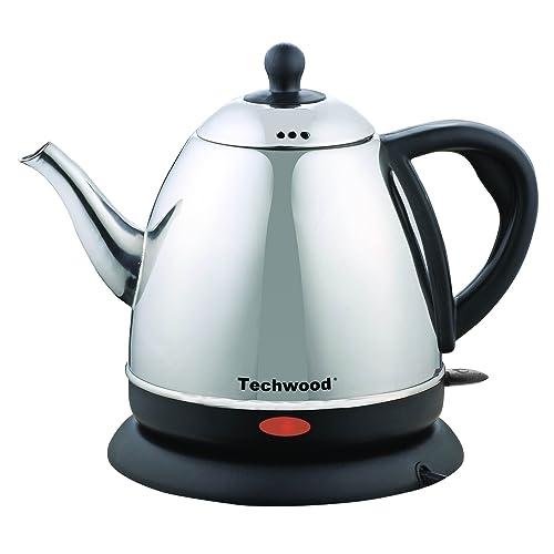 Techwood TBI-1010 Bouilloire Inox Argent 1 L