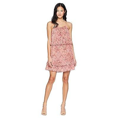 Jack by BB Dakota Logan Beach Batik Printed Dress (Rosette Pink) Women