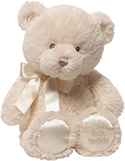 Baby GUND My First Teddy Bear Stuffed Animal Plush, Cream, 10