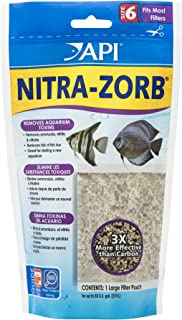 API ZORB, Variety of Aquarium Filtration Pouches, Fit Most Canister Filters on The Market, Clean and Clear Water, Remove toxins That can be Harmful to Fish and Lead to Cloudy Water