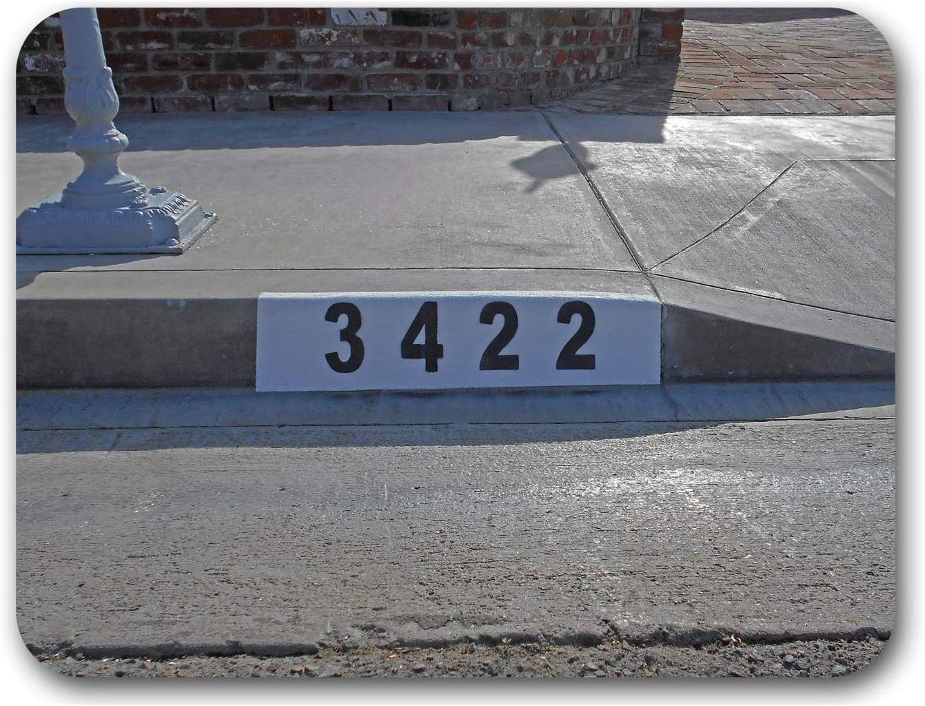 Jacksonville Mall Reusable Curb Address Manufacturer direct delivery Number Customized you for Stencil