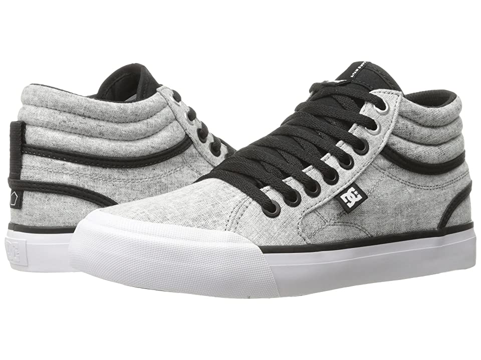 Dc Women S Evan Hi Tx Se Skate Shoes Black Charcoal