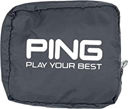 PING golf bag cover to protect your clubs when traveling covers up the entire bag with the strap out for easy carry zips back into a pouch for easy storage no on clubs protect your G410 or G700 clubs