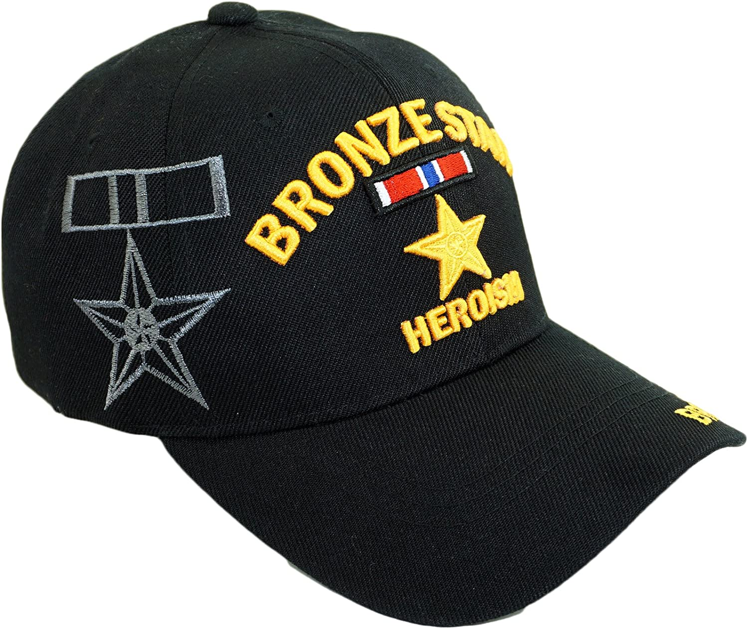 U.S. Military Official Max 66% OFF Licensed Embroidery Fees free!! Navy Hat Army Veteran
