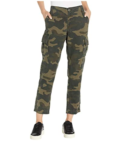 Blank NYC Tencel Cropped Straight Leg Cargo Pants (March On) Women