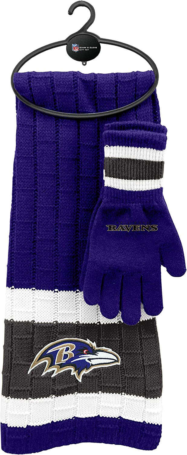 NFL Scarf Max 62% OFF Directly managed store Gloves Gift Set