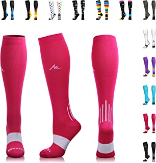 hot pink compression socks