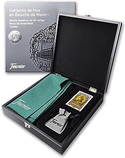 comprar comparacion Fournier- Conjunto Completo de Mus Estuche de Juego para Regalo (F43415)