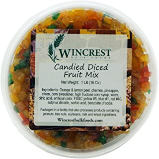 Candied Fruit Mix (Special Mello) ~ 1 Pound Tub
