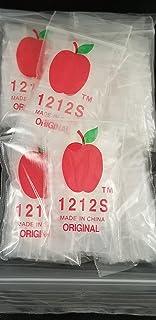Top Quality Bag 5858S Pink Color 1000 Apple Brand Mini Zip Lock Baggies