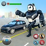 Police Panda Robot Transform: Robot Attack