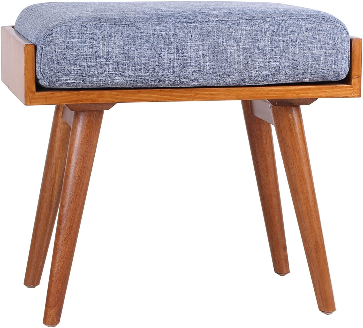 Porthos Home CH037A blue Aurora Upholstered Seat bluee