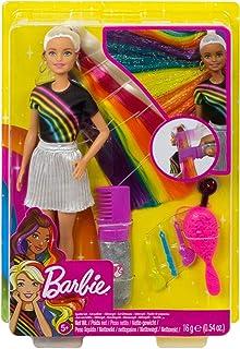 Barbie Rainbow Sparkle Gel Hair Doll FXN96 , 2724719876593