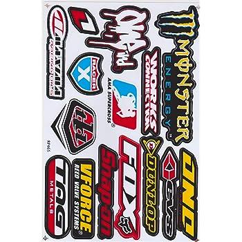 Autocollants de sponsors de course Supercross pour moto MX Motocross E382