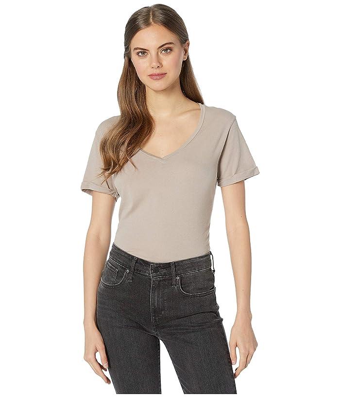 LAmade Staple V S/S Tee (Moon Rock) Women's T Shirt