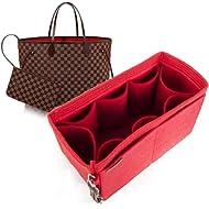 For LV Neverfull MM GM PM bag insert organizer