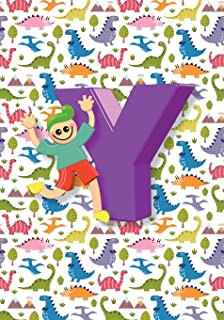 Y Notebook: Back to School Notebooks, Soft Paperback, Cute College Ruled Notebook - Journal or Diary Notebook for Boys