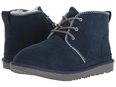 UGG Kids Neumel II Tasman (Little Kid/Big Kid) (Navy/Tasman) Boys Shoes