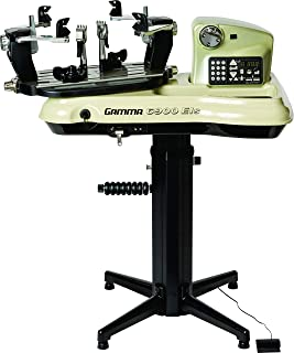 Gamma Professional Tennis Racquet Stringing Machine: Standing Racket String Machine, Tools and Accessories Included – Tennis, Squash, Badminton, 2pt or 6pt