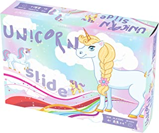 Unicorn Slide Board Game, A Fun Game of Unicorns, Magic and Lots of Laughter! Ages 4+, Kid's Unicorn Game