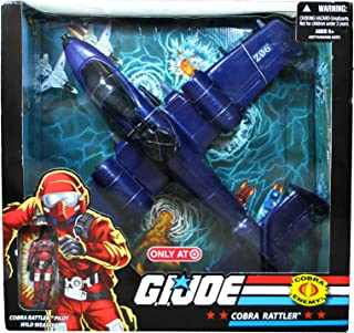 G.I. Joe Exclusive Deluxe Vehicle Cobra Rattler with Wild Weasel