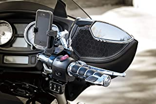 Kuryakyn 1798 Motorcycle Accessory: Standard Mirror Mount Tech-Connect Cradle Kit for Harley-Davidson, Honda, Indian, Kawasaki, Suzuki, Victory, Yamaha Motorcycles, Chrome/Black