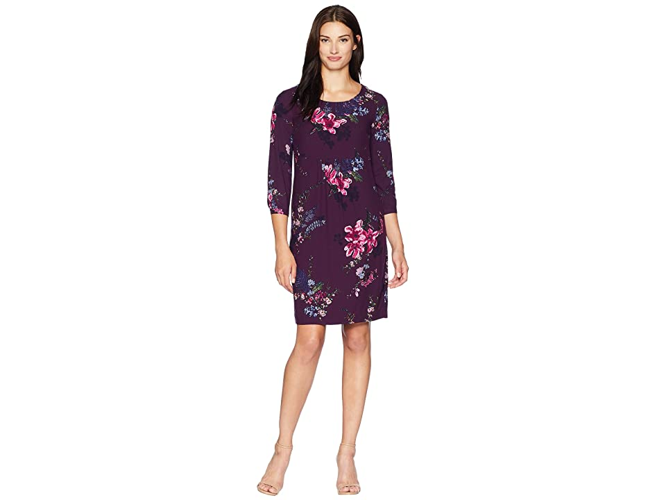 Joules Alison Woven Dress (Plum Harvest Floral) Women
