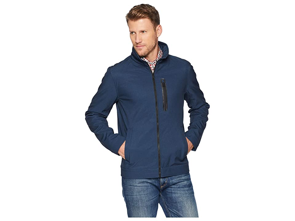 Nautica Softshell Jacket (Heather Ink) Men