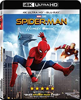 Best Spider-Man: Homecoming [4K Ultra HD] [Blu-ray] Reviews