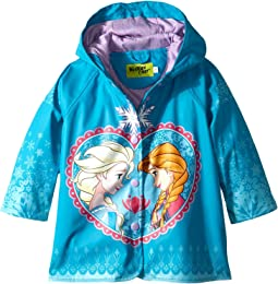 Western Chief Kids - Frozen Elsa & Anna Rain Coat (Toddler/Little Kids)