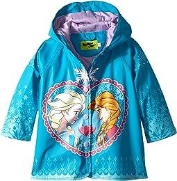 Western Chief Kids - Frozen Elsa & Anna Rain Coat (Toddler/Little Kids)