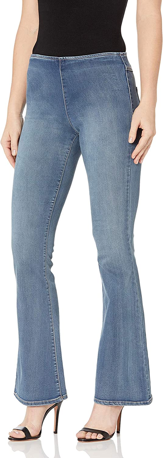 Jessica Special sale item Simpson Women's High Rise Jeans Gifts Pull On Contour Flare