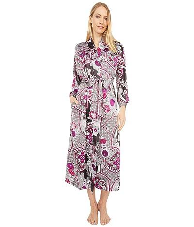N by Natori Obi Garden Robe (Silver Spark) Women