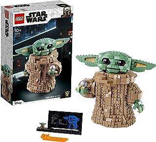 LEGO 75318 Star Wars The Mandalorian, Barnet, byggsats Samlingsleksak för fans från 10 år