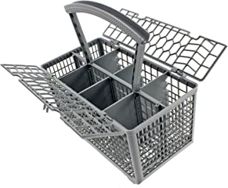 Spares2go Cutlery Basket Cage & Lid For Belling Dishwasher (Removable Handle, 235 X 240 130