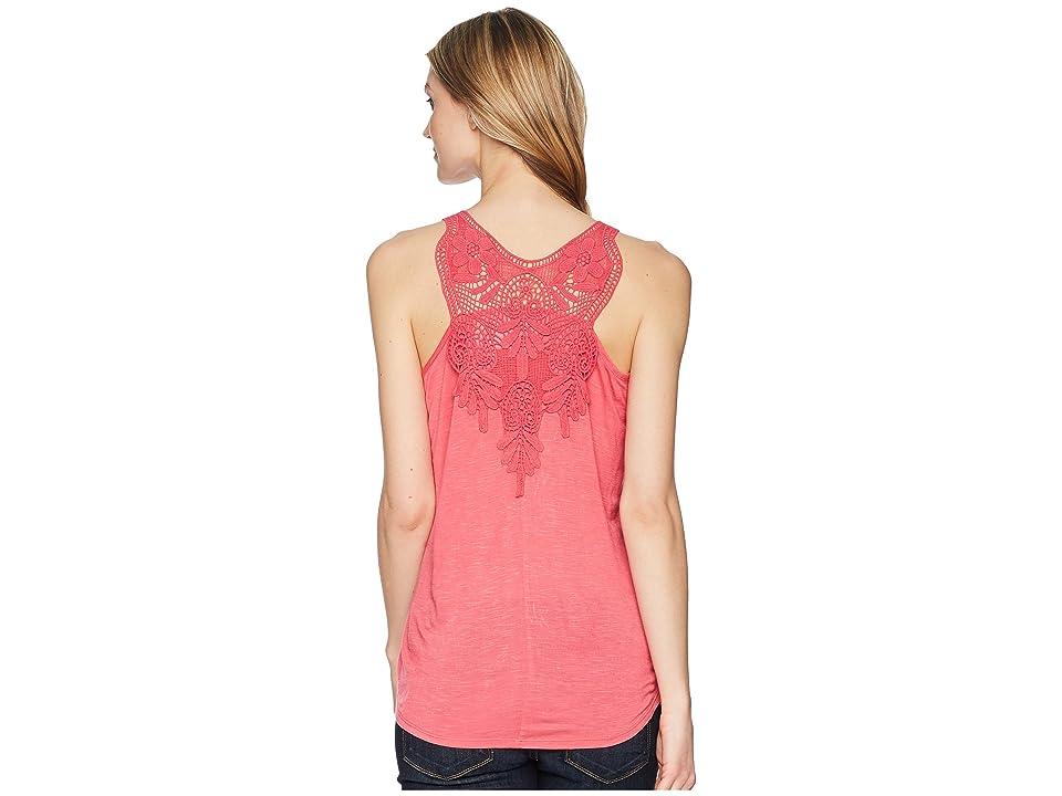 Wrangler Western Knit Fashion Shirt (Azalea) Women