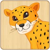 Kids Jigsaw Puzzles - Wooden Theme