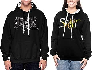 Matching Couple Jack/Sally Two Tone Hoodie Sweatshirt