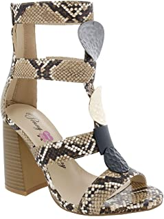 Penny Loves Kenny womens TYMBER Natural Faux Snake 6.5 M US