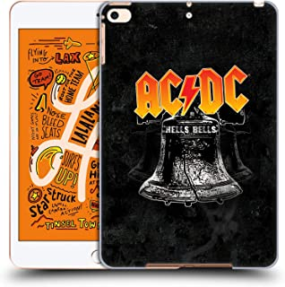 Official AC/DC ACDC Hells Bells Song Titles Hard Back Case Compatible for iPad Mini (2019)