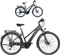 Fischer Viator 4.0i - Bicicleta eléctrica para Mujer (28 Pulgadas, Altura de 44 cm, Motor Central de 50 NM, batería de 48 V)